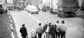 Der Weg nach Westen: Als Millionen Deutsche selbst Flüchtlinge waren