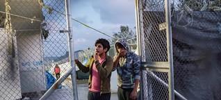 Flüchtlingspolitik: Ein Leben wie unter Toten