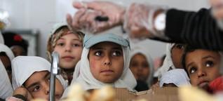Kriegsparteien verhindern Hilfe: Im Jemen ist selbst Mehl umkämpft