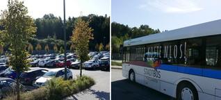 Bus für lau - und alle fahren Auto