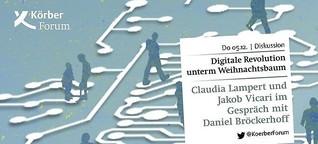 Digitale Revolution unterm Weihnachtsbaum