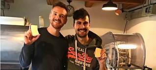 Duschbrocken aus Stuttgart: Wie zwei Jungs eine Firma aufgebaut haben