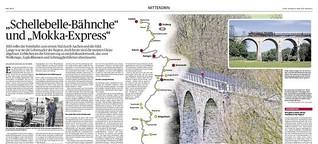 """""""Schellebelle-Bähne"""" und """"Mokka-Express"""""""