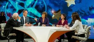 """""""Illner"""": Als es um Russland geht, geraten Stoiber und Baerbock aneinander - WELT"""