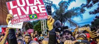 Mehrheit befürwortet laut Umfrage Freiheit von Lula