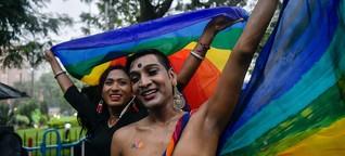 LGBTQI in Indien: Der Kampf geht weiter
