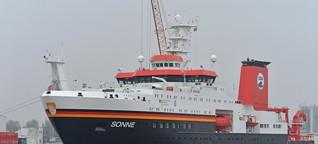 """Forschungsschiff """"Sonne"""" : Verschmutzung der Meere auf der Spur / gut zu wissen, BR"""