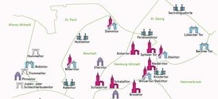 Hamburger Stadttore: Wo standen früher Stadttore?