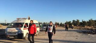 """""""Unklar, wie viele Menschen noch in Aleppo sind""""   DW   16.12.2016"""