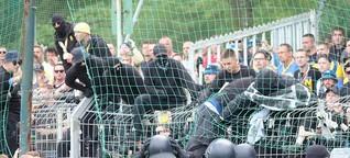 Lazio Rom macht Schule - deutsche Fans verhöhnen Anne Frank