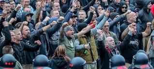 """Ein """"Trauermarsch""""  Chemnitz 2018"""