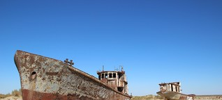 Uzbekistan's Dying Aral Sea Resurrected as Tourist Attraction