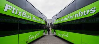 Flixbus oder Blablacar?