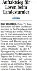 Auftaktsieg für Philip Loven beim Landesturnier