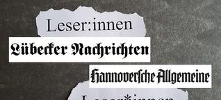 Lübeck und Hannover gendern jetzt - und die lokale Presse? | genderleicht.de