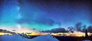 Airglow am Nachthimmel : Jagd nach dem Alpenleuchten - gut zu wissen, BR