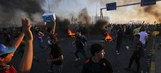 Darum geht es bei den Protesten im Irak
