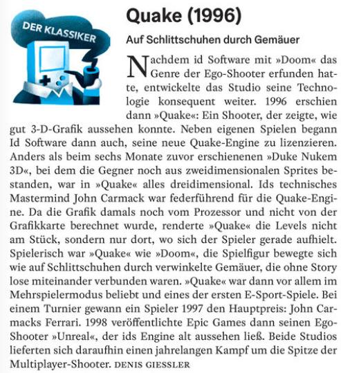 Der Klassiker: Quake 1