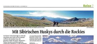 Colorado: Mit Sibirischen Huskys durch die Rockies
