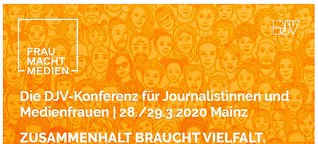 Referentin auf der Journalistinnen-Konferenz - DJV - Deutscher Journalisten-Verband