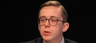 Jüngster Bundestagsabgeordneter sorgt mit Rede für Furore