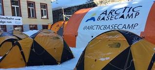 Weltwirtschaftsforum: Zeltlager gegen den Klimawandel