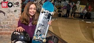 Skateboarderin Lilly Stoephasius - Diese Zwölfjährige will zu Olympia