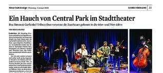 Ein Hauch von Central Park im Stadttheater | Simon & Garfunkel Tribute Band