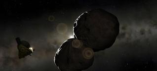 Babyplanet Arrokoth - Aufnahmen bestätigen Modell zur Entstehung von Planeten