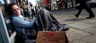 """""""In einem reichen Land wie Irland sollte es solches Elend nicht geben"""""""