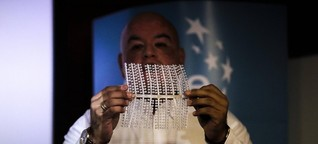 Erfinder und Unternehmer Roberto Astete - Eine Kunststofftüte ganz ohne Plastik