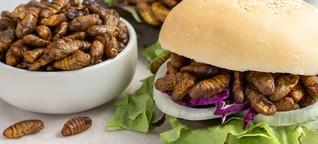 Insekten-Food: Sechs Beine für einen Öko-Burger