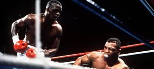 Boxen: Mike Tyson verliert 1990 sensationell gegen James Douglas