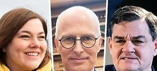 Diese Kandidaten kämpfen um die Gunst der Hansestadt