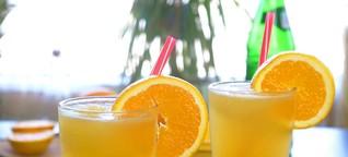 Orangen Zitronen Limetten Slush Soda Rezept