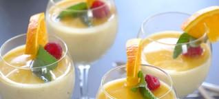 Orangen Dessert Rezept – Einfache, Frische und Fixe Nachspeise