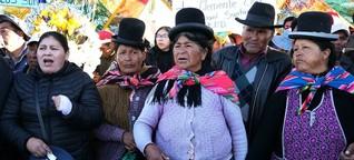 Machtkampf in Bolivien: Wer tötete in El Alto?