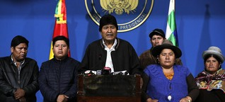 Evo Morales tritt zurück: Freude trifft Gewalt in Bolivien