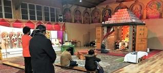 In Berlin entsteht ein Hindu-Tempel - Stahl stört die Konzentration