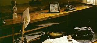 Beethoven-Jahr: Grinsende Statuen, Konterfeis in Schaufenstern, rote Schals und Plätzchen