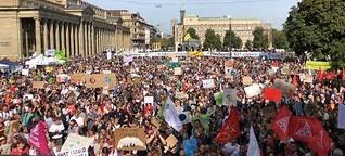 Globaler Klimastreik: Die Klimademo in Stuttgart