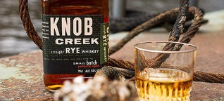 Robust: Knob Creek Rye Whiskey im Test