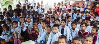 Eine Schule und sauberes Wasser für Nepal
