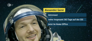 Astro-Alex im Homeoffice