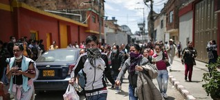 Corona und Kolumbiens Gefängnisse: Aufstand im Knast