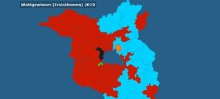 Wie wurde in Brandenburg und Sachsen gewählt?