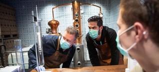 """Gin Sul"" stellt Produktion um - Desinfektionsmittel statt Gin"