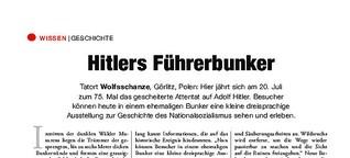 Hitlers Führerbunker