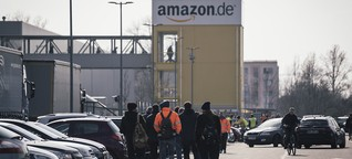 Amazon-Mitarbeiter in Coronakrise: Die Angst geht um