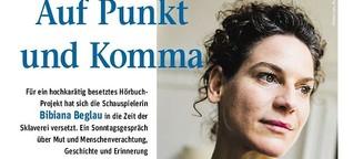 """Bibiana Beglau: """"Eine schmerzhafte Geschichte"""""""